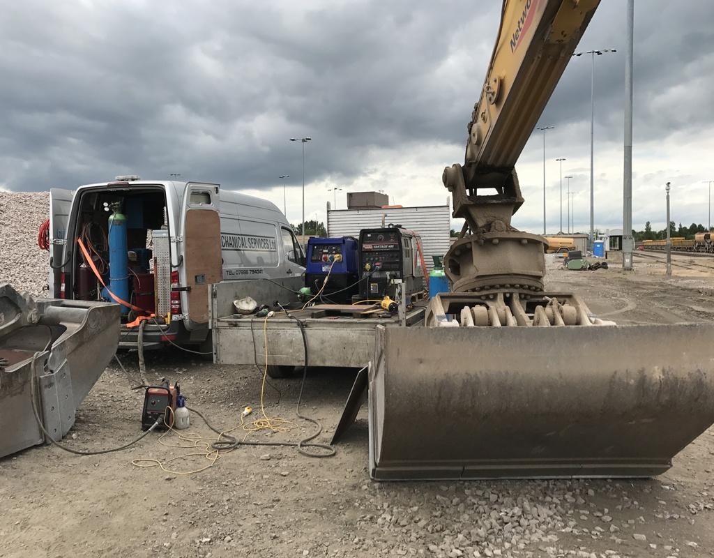 On-Site Welding Repairs